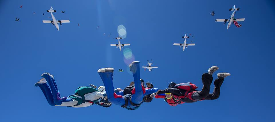 Best US dropzones where to skydive in the USA Image courtesy of Skydive Perris by Craig OBrien