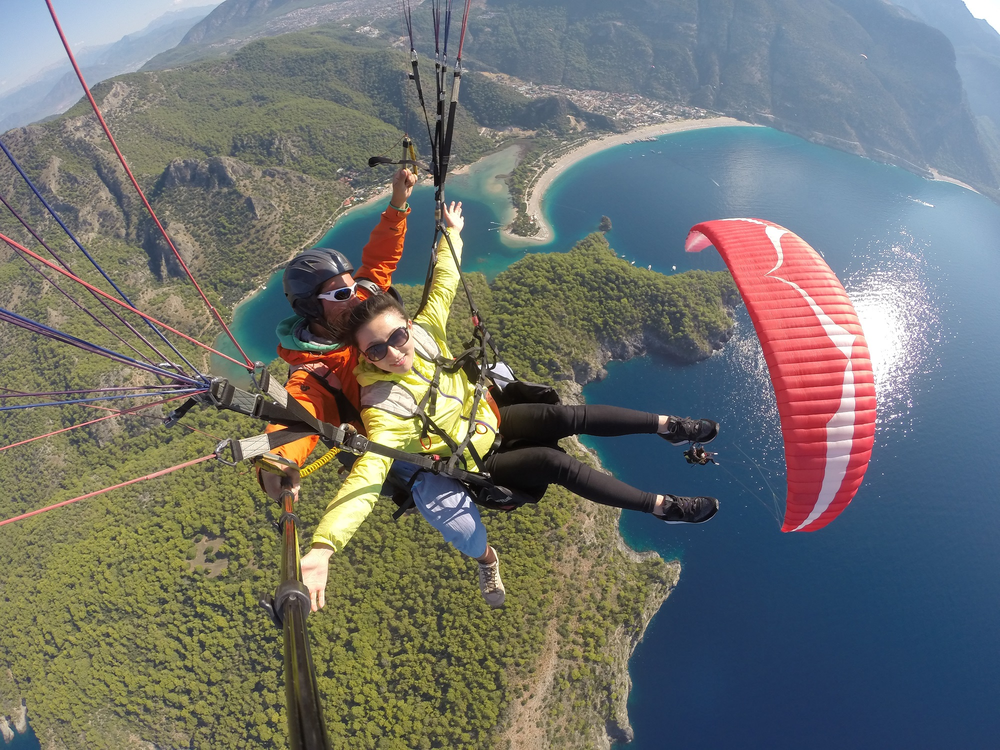 Flying Mammut Discount: 10% off tandem paragliding in Oludeniz