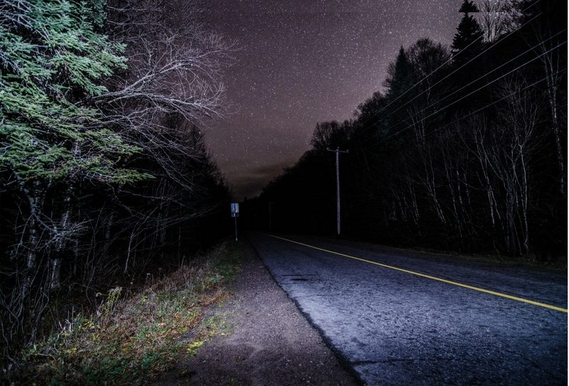Starman mid-distance night triathlon in Scotland