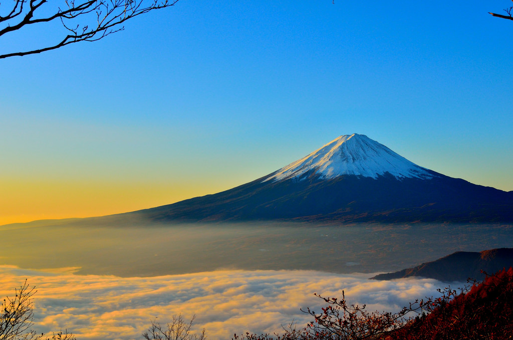 Guide to Japanese overlanding Adventure travel in Japan Flickr CC image of Mount Fuji by Wallboat