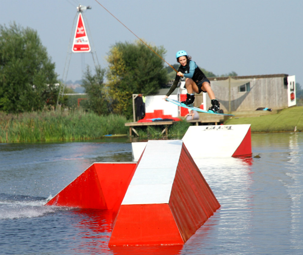 Wakedaze with Lex Balladon UK Female only wakeboarding day photo by Toby Oliver Club Wake Park