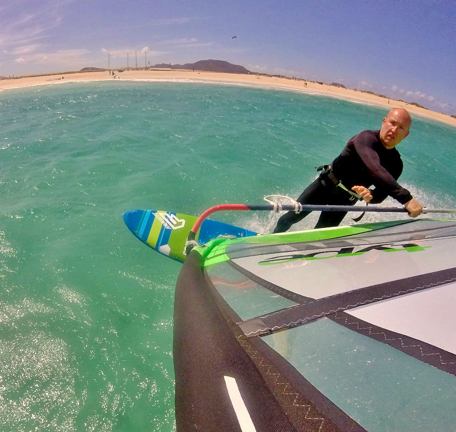 Fuerte Flag Beach one of the top 5 freeride windsurf spots Best windsurfing holidays for all image by Tez Plavenieks