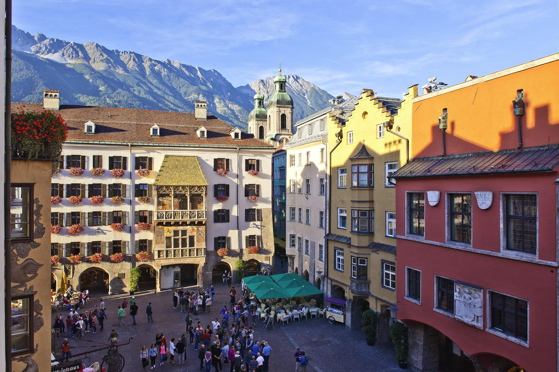 Guide to Innsbruck road cycling holidays Best biking city break Copyright of Innsbruck Tourism Photo by Christof Lackner