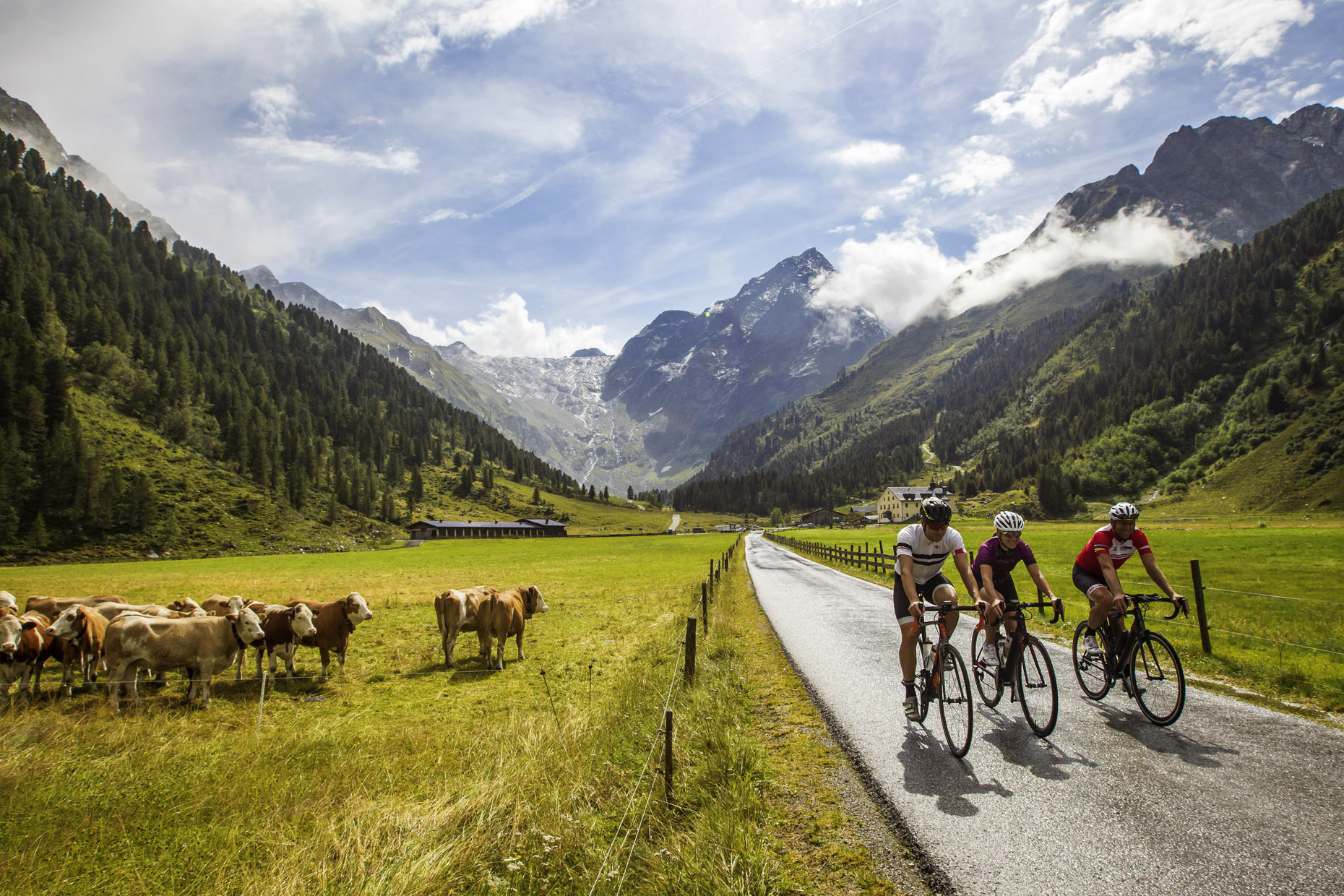 Guide to Innsbruck road cycling holidays Best biking city break Copyright of Innsbruck Tourism Photo by Erwin Haiden