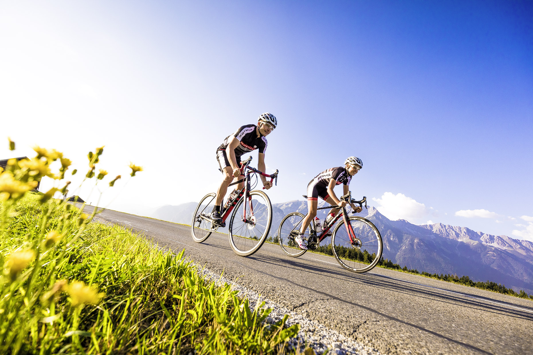 Guide to Innsbruck road cycling holidays Best biking city break Copyright of Innsbruck Tourism Photo by Tommy Bause