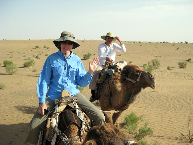 Best Iran adventure holidays Camel trek Lut Desert Flick CC image by indigoprime