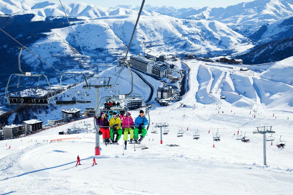French Pyrenees ski resort news New ski area Pyrenees 2 Vallees St Lary (C) David Vilanova