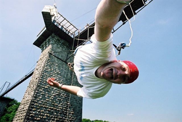 Normandy one of the 12 best bungee jumps in Europe Bungy European style flickr CC image by joshkrancer