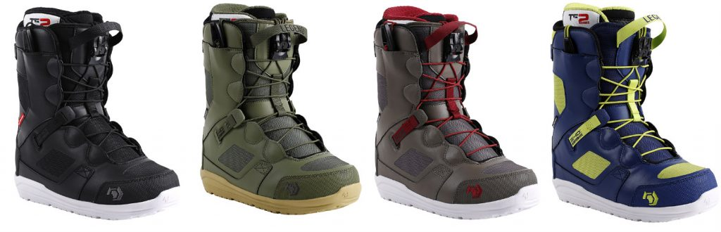 Northwave Legend snowboard boots options 2017-2018