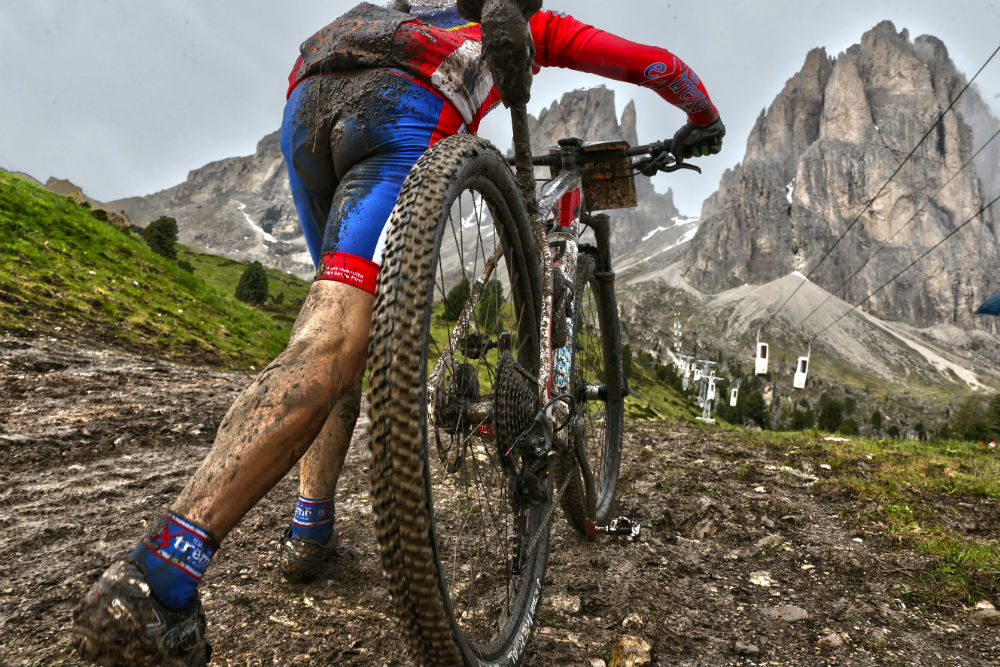 eMTB the Dolomites Val Gardena electric mountain biking holiday-® freddy planinschek