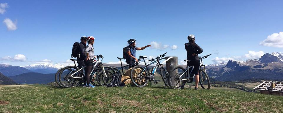 eMTB the Dolomites Val Gardena electric mountain biking holiday (C) Adler Spa Resorts