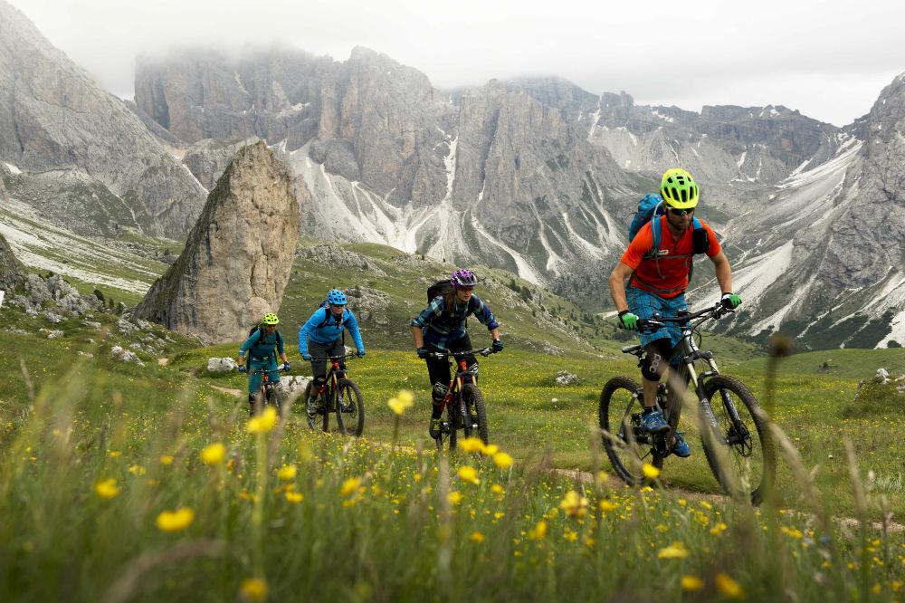 eMTB the Dolomites Val Gardena electric mountain biking holiday (C) Val Gardena (13)