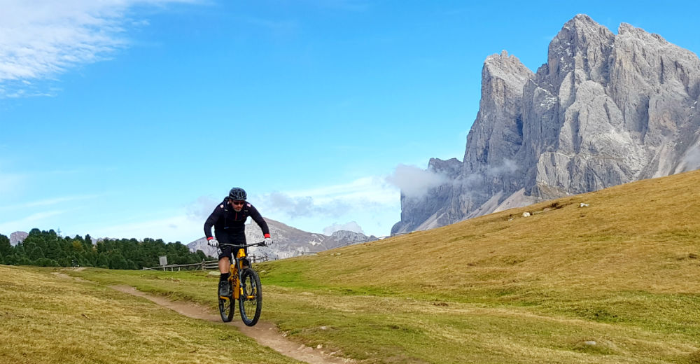 Review of Adler Dolomiti Val Gardena MTB holiday in Ortisei