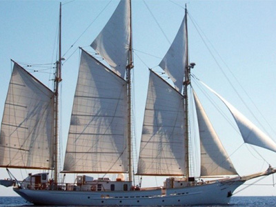 Maybe Sailing discount: 5% off tall ship charters
