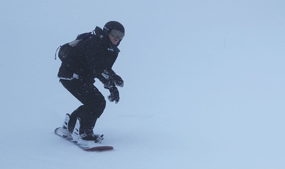 Review of Cauterets snowboarding holiday in the French Pyrenees tough conditions