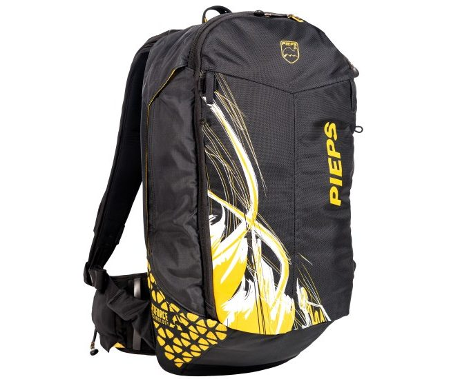 Review of Pieps JetForce Rider backpack Best avalanche airbag system