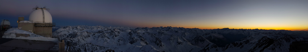 sunset Pic du Midi by Luke Rees