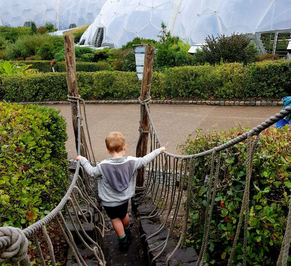 Day at Eden Project in Cornwall - shortcuts
