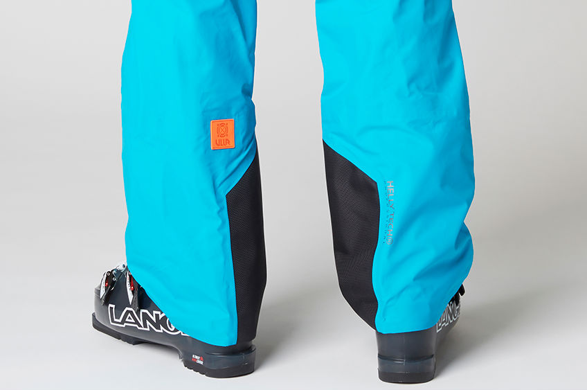 Helly Hansen Elevate Shell Pant review Freeride ski trousers reinforced heel