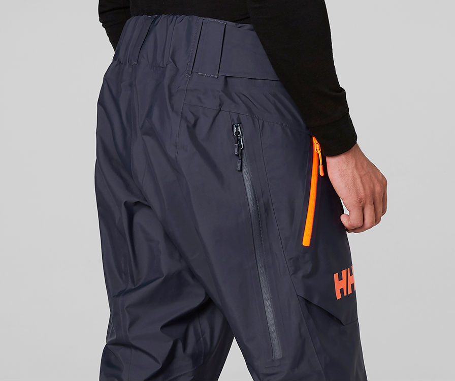 Helly Hansen Elevate Shell Pant review Freeride ski trousers venting and pockets