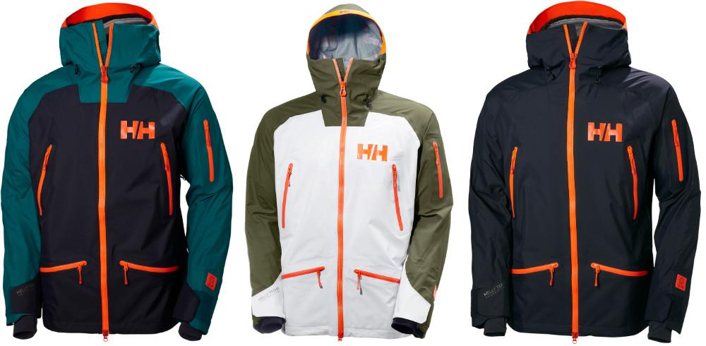 Ridge Shell Ski Jacket review Helly Hansen freeride jacket