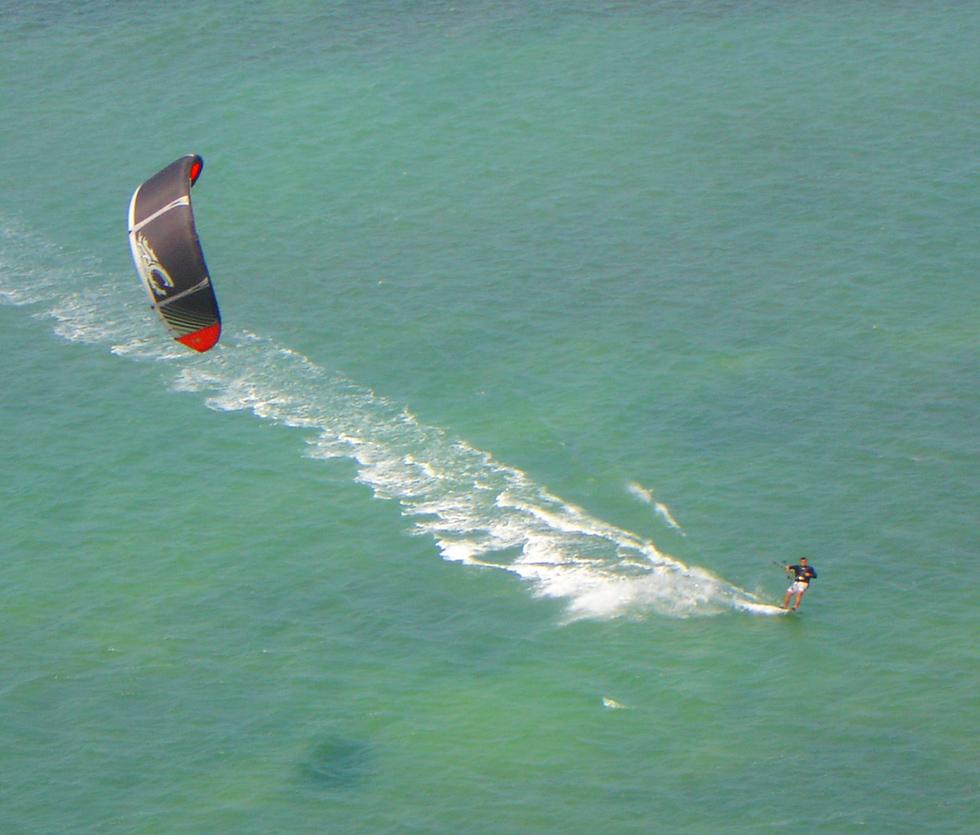 Brazilian kitesafari in Grande do Norte: Multi-day downwind kitesurfing in Brazil Image courtesy of Freeride Kitesurf