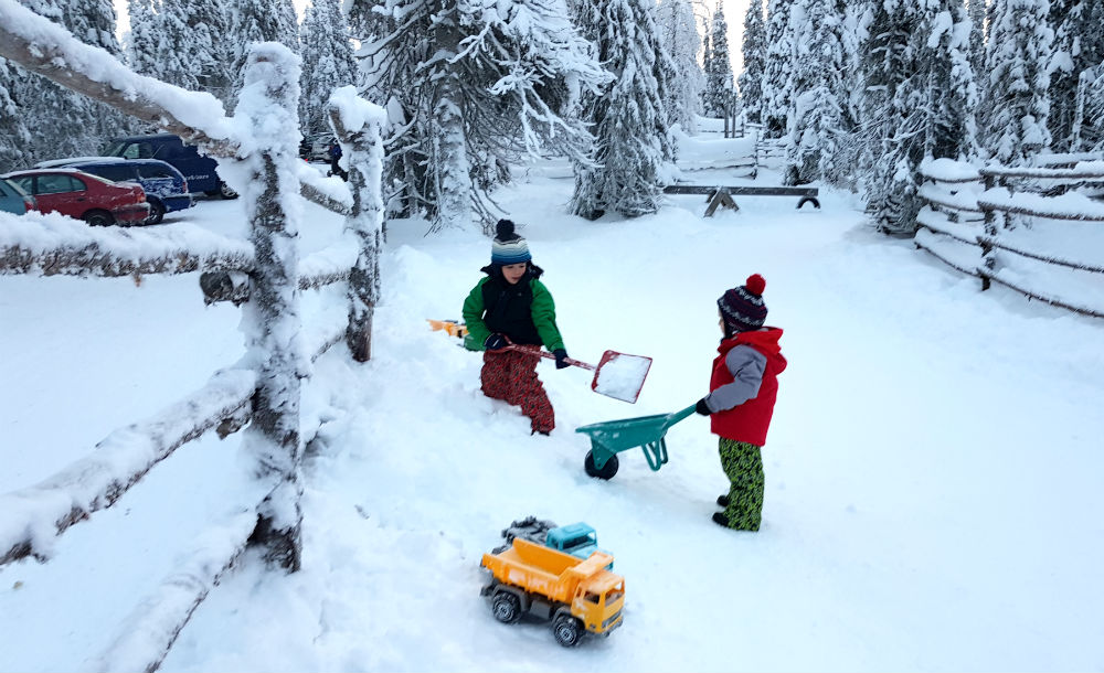 Christmas in Lapland Review of Ruka family adventure holiday