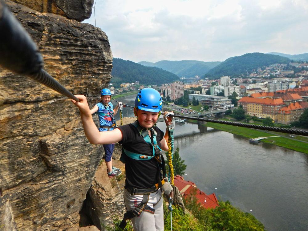 Enthusia Active Tours discount: 15% off Via Ferrata in Czech Republic