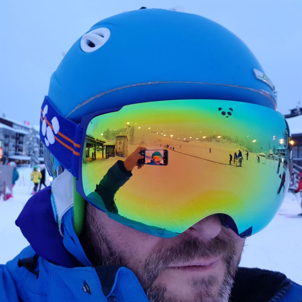 Panda Optics Cobalt goggles review Best magnetic ski goggles