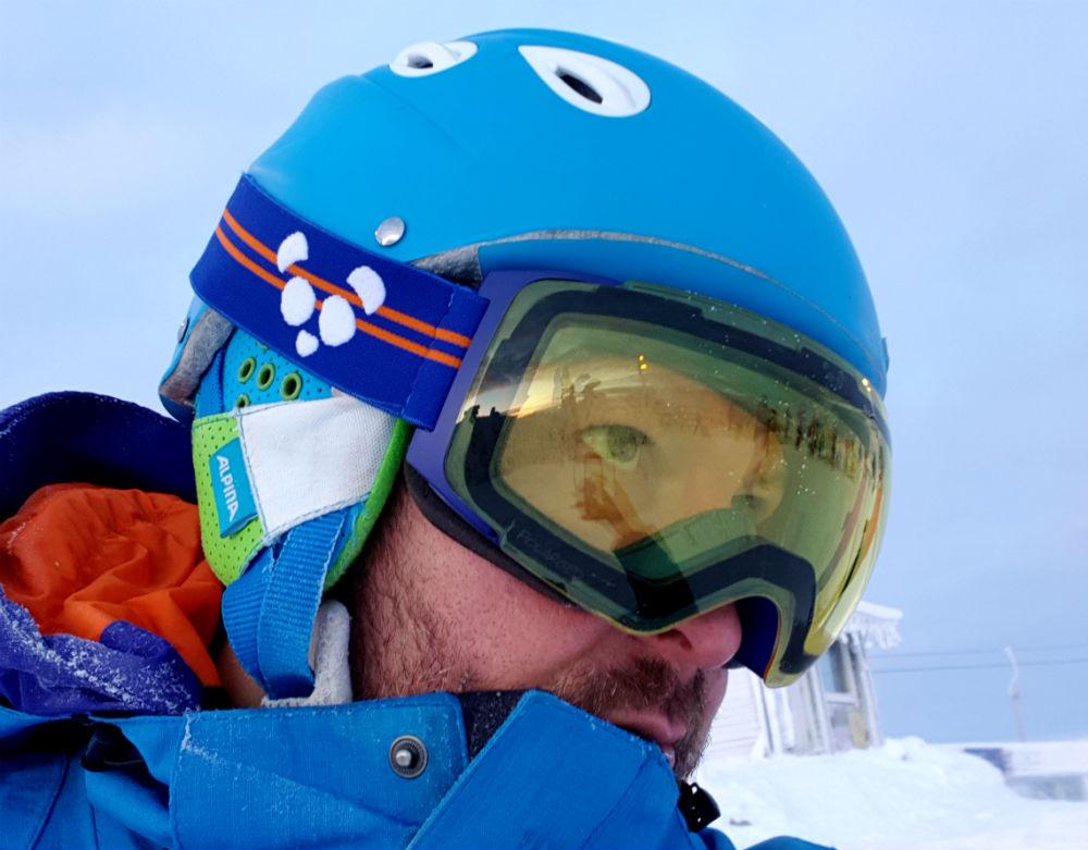 Panda Optics Cobalt goggles review low light lens Best magnetic ski goggles