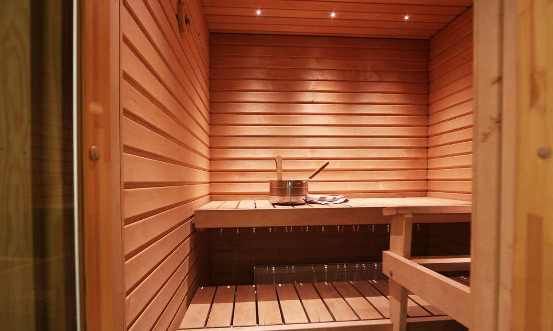 Review of Ruka suites sauna