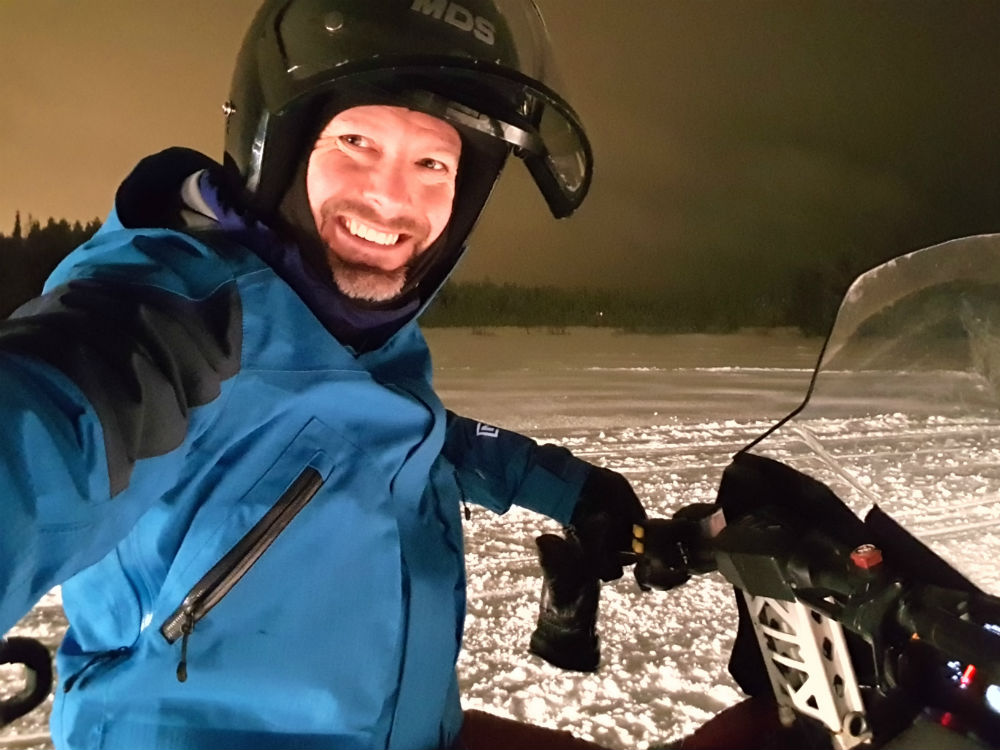 Snowmobiling Christmas in Lapland Review of Ruka family adventure holiday