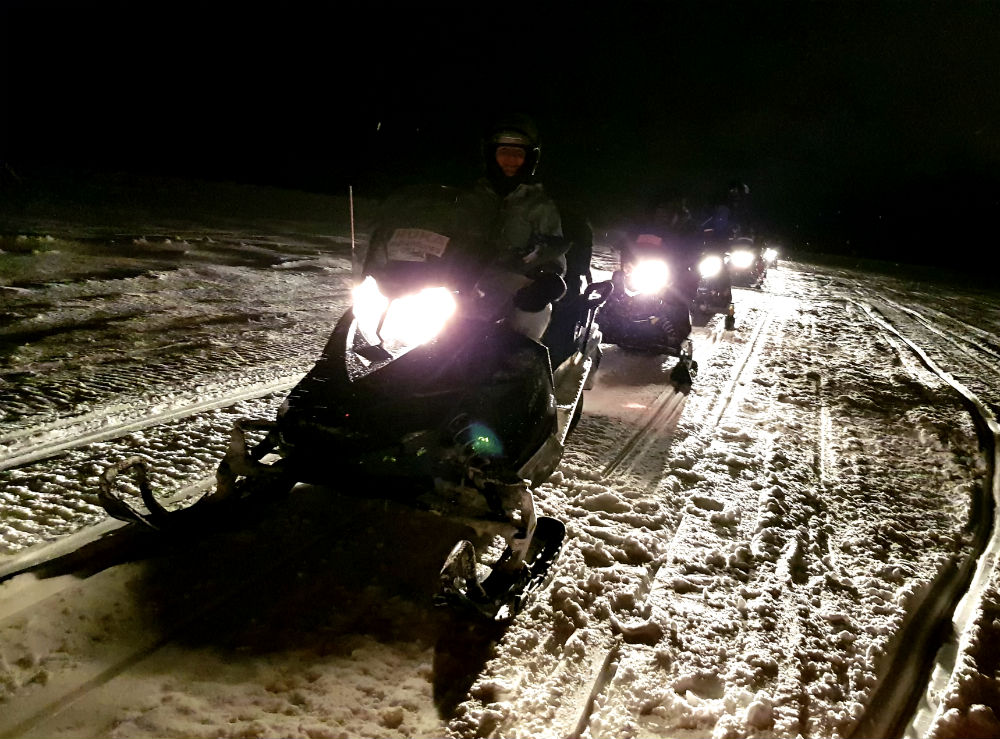 Snowmobiling during Christmas in Lapland Review of Ruka family adventure holiday