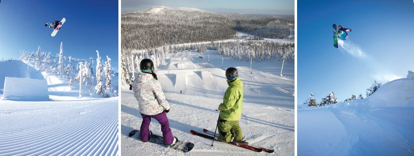 Snowpark Review of Ruka family adventure holiday image courtesy of Ruka tourism