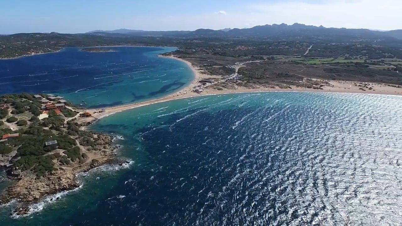 Porto Pollo one of the 9 best Sardinia kite spots Image courtesy of Kite Generation