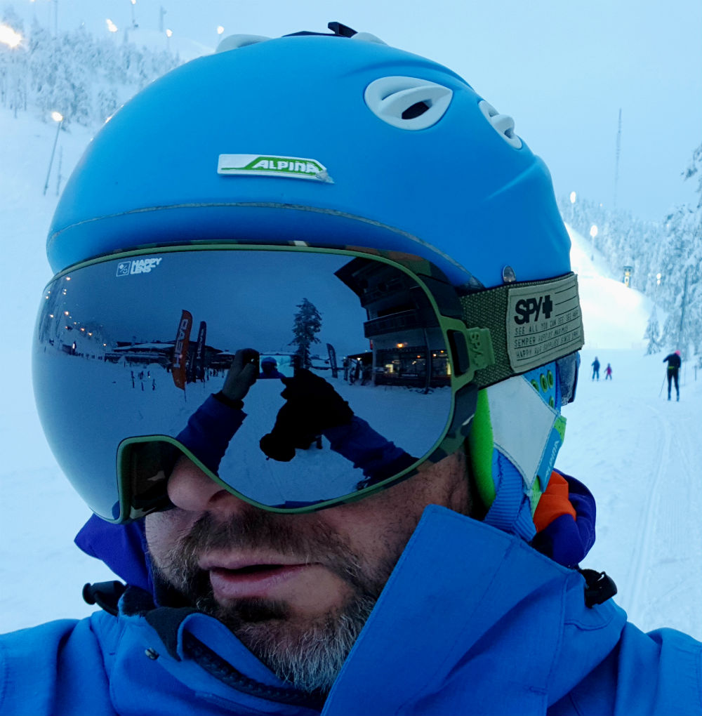 Review of Doom goggles by SPY Optics Silver Spectra lens