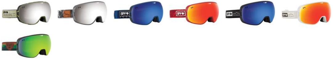 Review of Doom goggles by SPY Optics - colour options