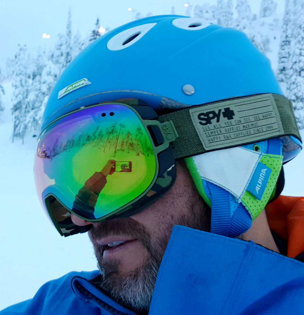 Review of Doom goggles by SPY happy yellow and lucid green