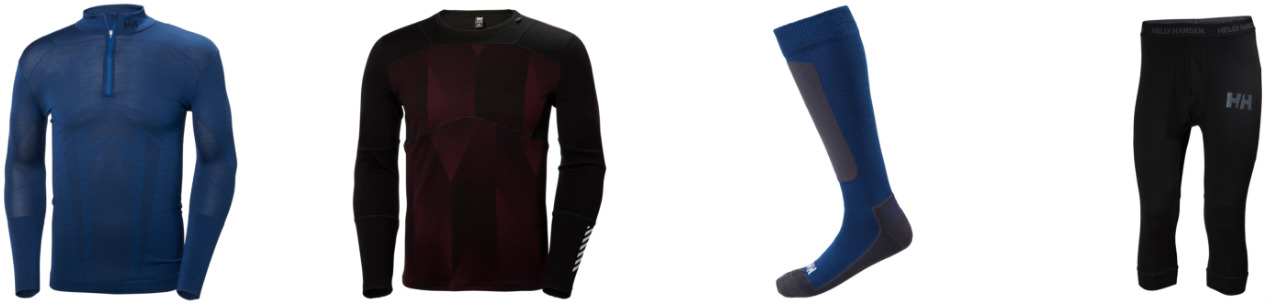 Review of Helly Hansen baselayers best ski thermals