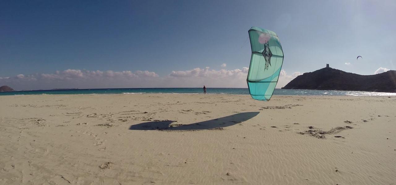 Villasimius one of the 9 best Sardinia kite spots Image courtesy of Kite Generation