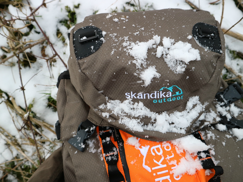 Skandika Bogong covered in snow