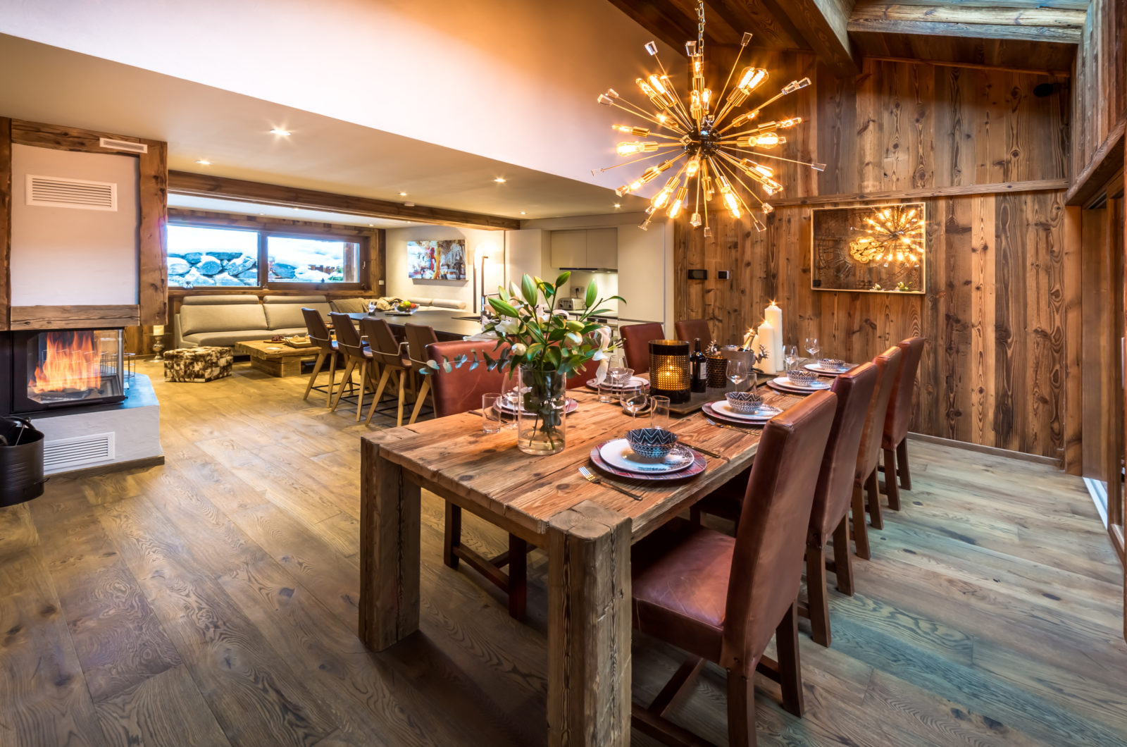 SAMPLE FEATURED ACCOMMODATION: luxury Snowboarders chalet in Morzine