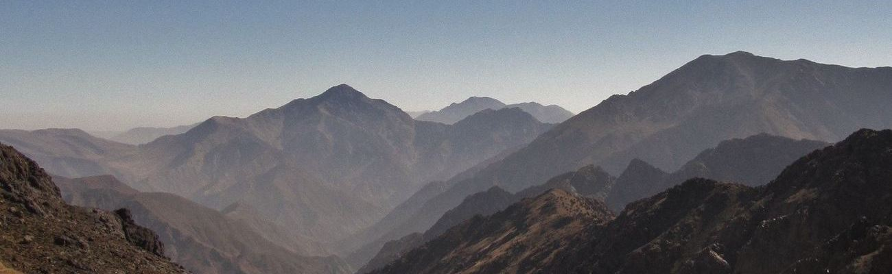 Climbing Toubkal discount off trekking in the Atlas Mountains