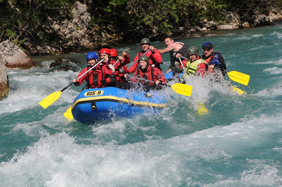 Tara river rafting on Montenegro activity holidays: The future of adventure sports?image courtesy of DMD Kamp
