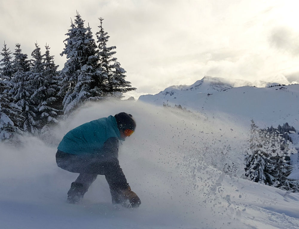 Review of Elevation Alps Chalet Kapa snowboard holiday in Morzine Lindarets Valley