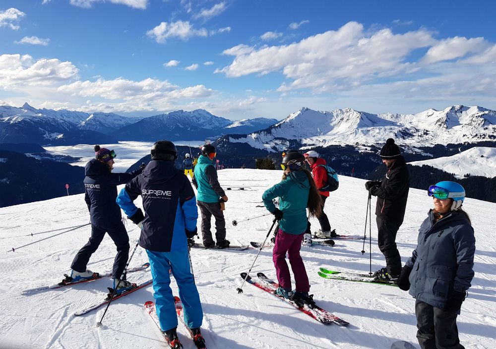 Review of Elevation Alps Chalet Kapa snowboard holiday in Morzine Top of Mt Chery