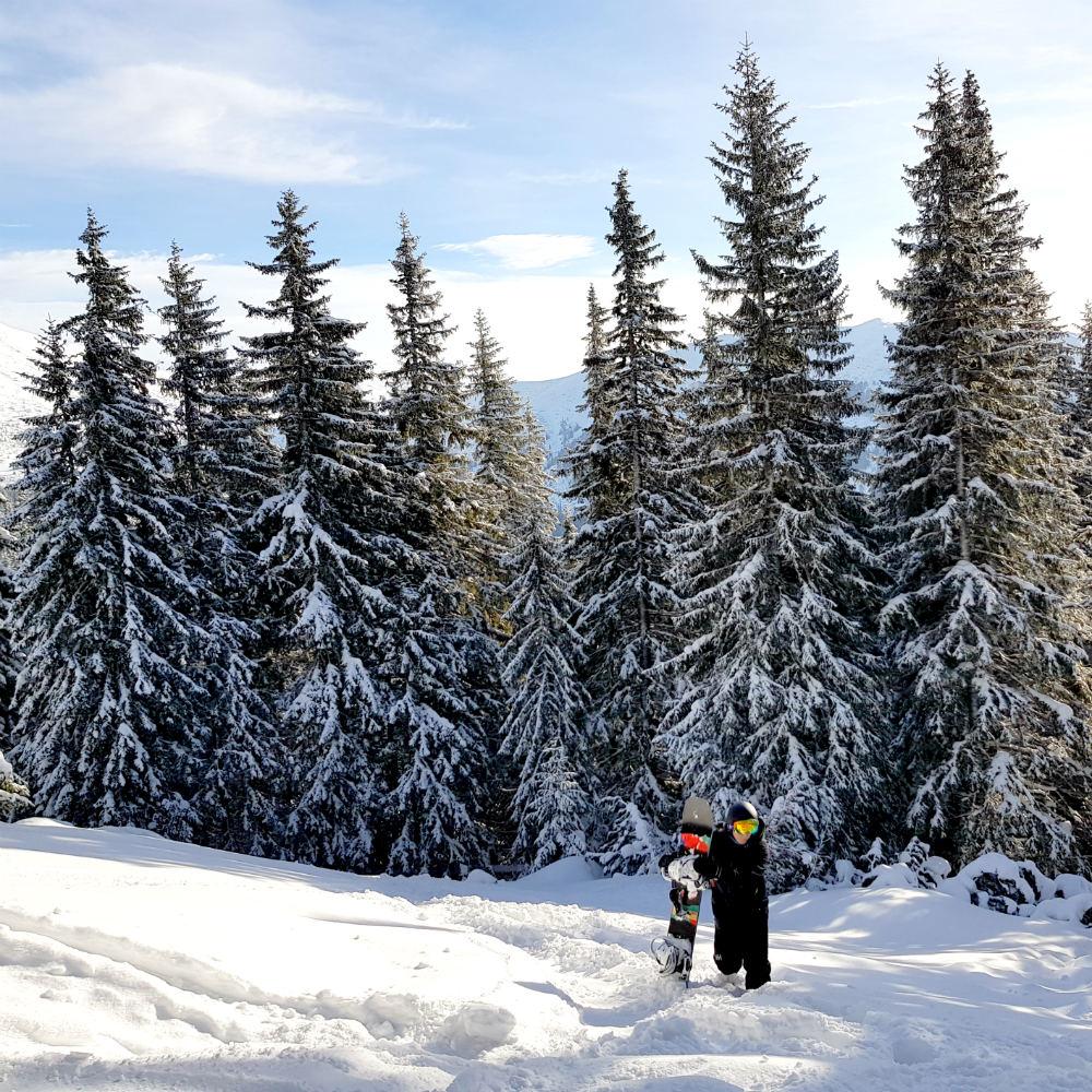 Review of Jasna snowboarding holiday in Slovakia & Tatra freeride