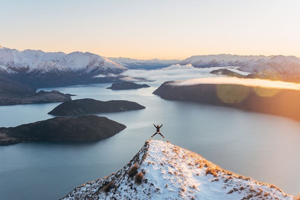 Roys Peak Wanaka Haka Tours Discount off overlanding in New Zealand