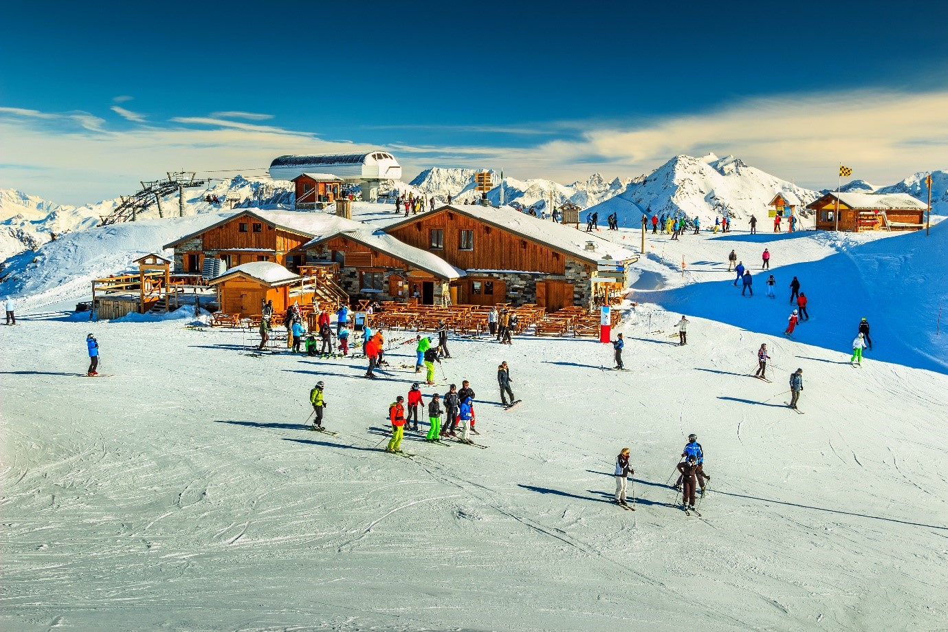 Like to visit a casino when skiing? Try Chamonix where there is one of the best casinos in ski resorts