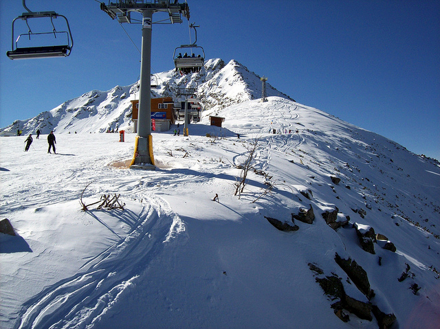 Bansko - low cost skiing holidays - FlickrrCC image by Freddie Phillips